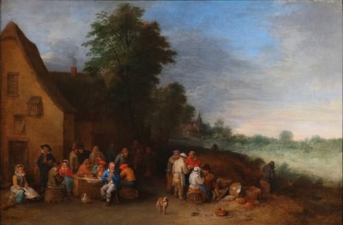 Paintings & Drawings  - Théobald Michau (1676-1765)