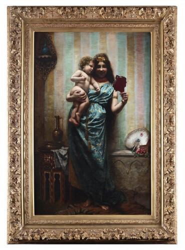 Agapit Stevens (1849-1917) - Paintings & Drawings Style