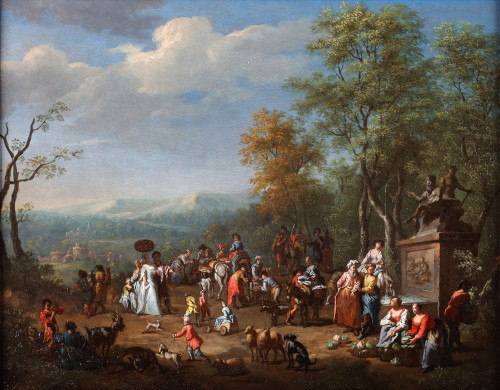 Pieter Verdussen (1662-1710) and Jasper Broers (1682-1716)