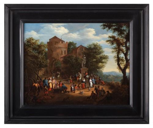 Pieter Verdussen (1662-1710) and Jasper Broers (1682-1716) - Paintings & Drawings Style