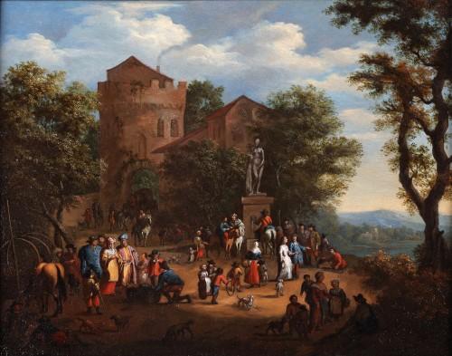 Paintings & Drawings  - Pieter Verdussen (1662-1710) and Jasper Broers (1682-1716)