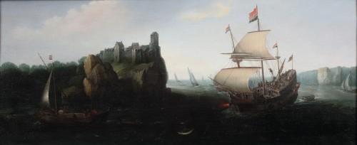Marine - Cornelis Hendricksz. Vroom (1615 Danzig -1661 Haarlem)