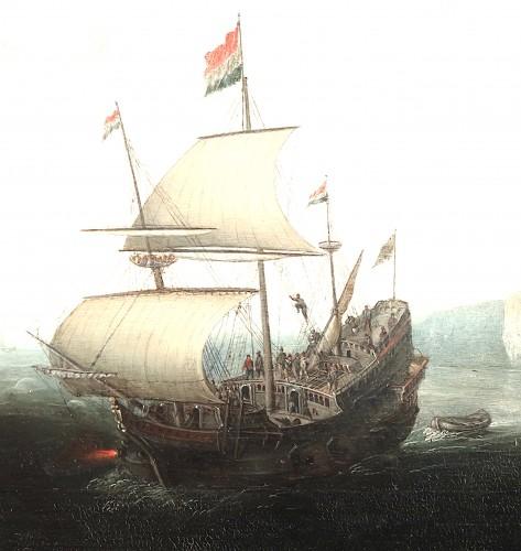 Marine - Cornelis Hendricksz. Vroom (1615 Danzig -1661 Haarlem) -