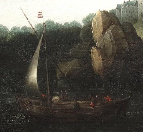 17th century - Marine - Cornelis Hendricksz. Vroom (1615 Danzig -1661 Haarlem)