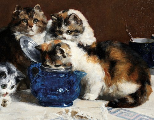 Paintings & Drawings  - Charles Van den Eycken (1859- 1923)