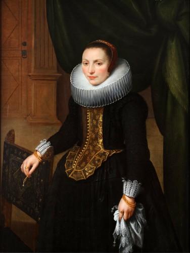 Portrait of Suzanna Cock, wife of Cornelis de Vos