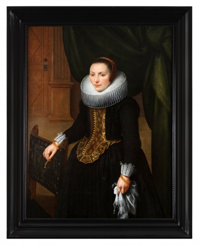 Paintings & Drawings  - Portrait of Suzanna Cock, wife of Cornelis de Vos
