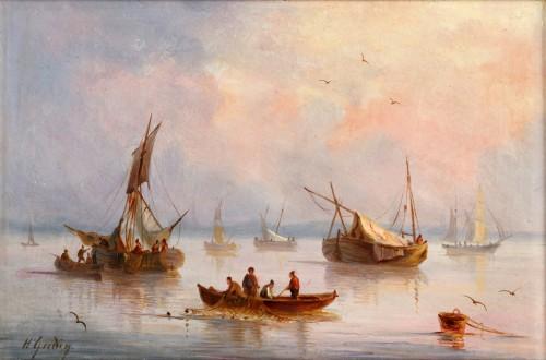 Henriette Gudin (1825-1892) - Paintings & Drawings Style