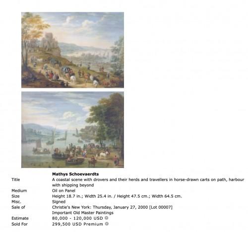- A moment of rest - Matthys Schoevaerts (1665-1702)