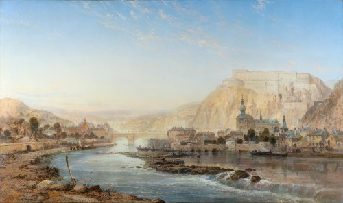 Vue de Dinant - James R Webb (1835–1895)