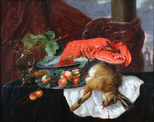 Jan Fijt, still life with lobster (Antwerp 1611-1661 Antwerp)