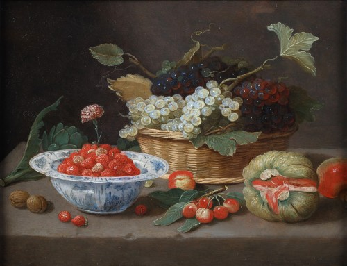 A Still life by the pseudo Jan Van Kessel the Younger (1654 - 1708)