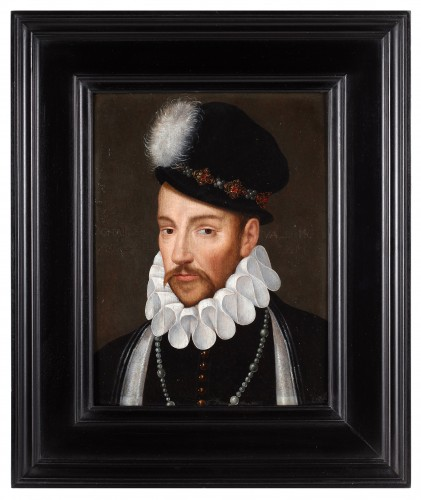 Paintings & Drawings  - Portrait of Charles IX, count of Valois