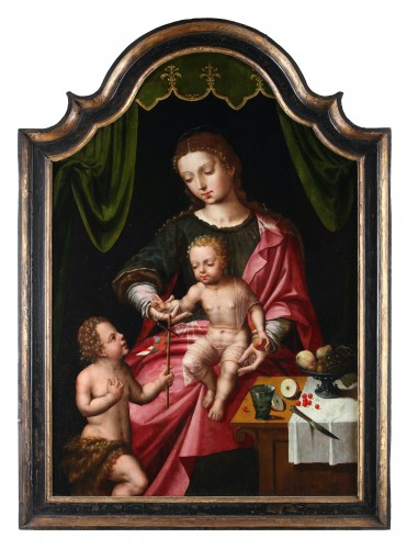 Marcus Gheeraerts the Elder, Virgin and Child