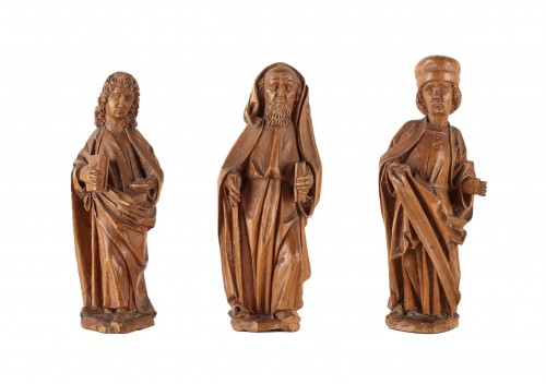 Three miniature Evangelists