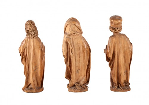Three miniature Evangelists - Sculpture Style