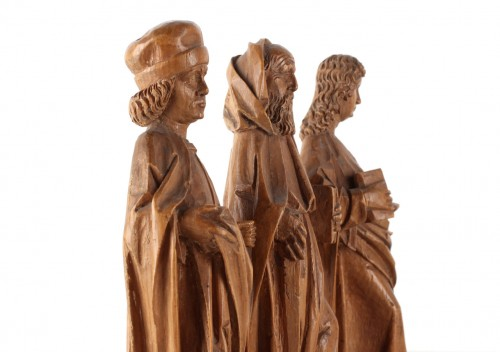 Sculpture  - Three miniature Evangelists