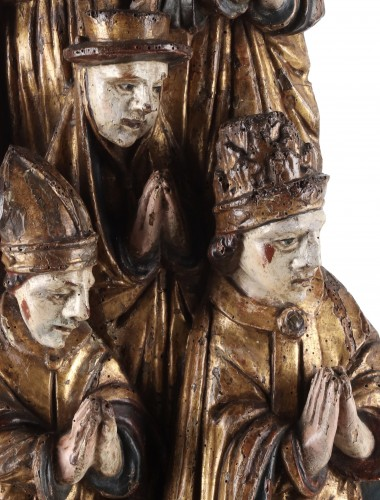 A group representing the Church - Sculpture Style
