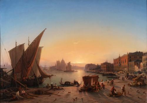 Louis Mecklenburg (1820-1882)- Venice