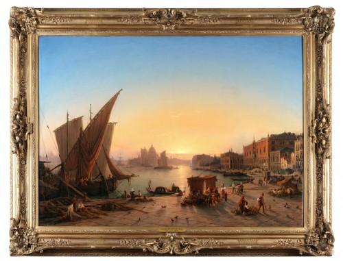 Louis Mecklenburg (1820-1882)- Venice -