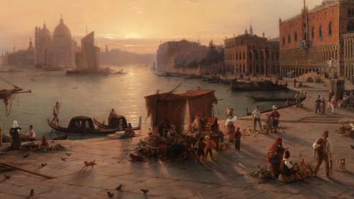 Antiquités - Louis Mecklenburg (1820-1882)- Venice