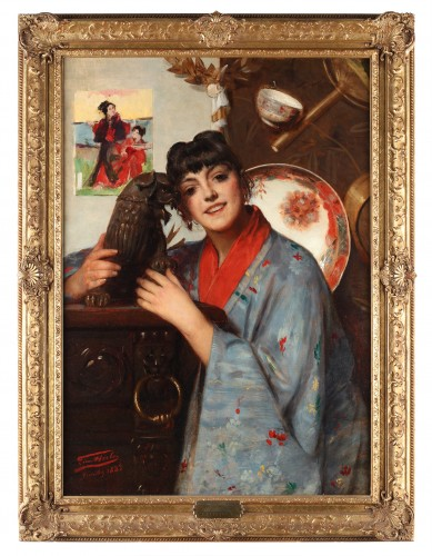 Chinese girl - Léon Herbo (1850-1907) -