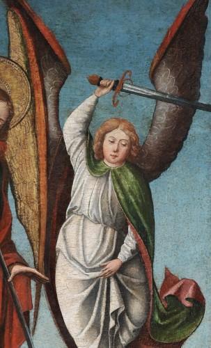 Paintings & Drawings  - Saint Michael slaying the Devil