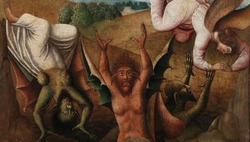 <= 16th century - Saint Michael slaying the Devil