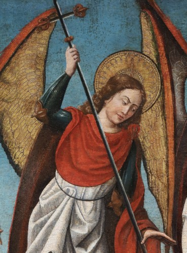 Antiquités - Saint Michael slaying the Devil