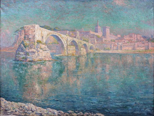 The bridge of Avignon - Paul Leduc (1876-1943)