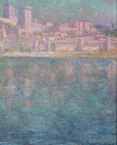Paintings & Drawings  - The bridge of Avignon - Paul Leduc (1876-1943)