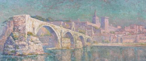 The bridge of Avignon - Paul Leduc (1876-1943) -