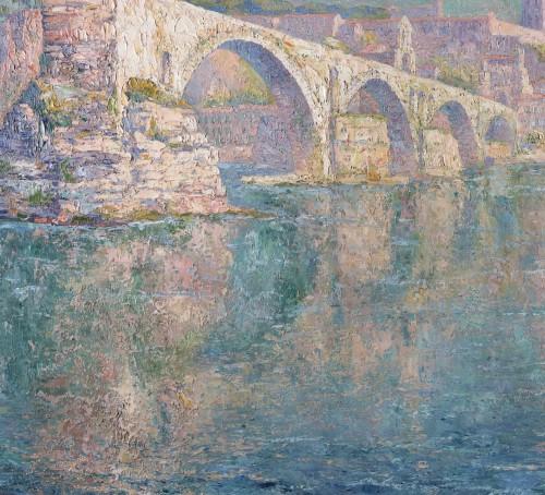 20th century - The bridge of Avignon - Paul Leduc (1876-1943)