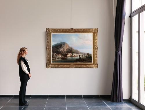 Dinant  - Pierre Tetar van Elven (1828-1908) - Paintings & Drawings Style