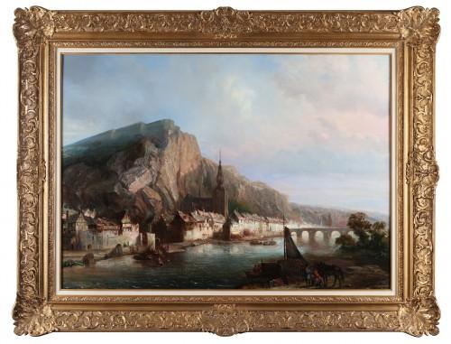 Paintings & Drawings  - Dinant  - Pierre Tetar van Elven (1828-1908)