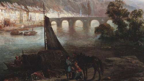 19th century - Dinant  - Pierre Tetar van Elven (1828-1908)