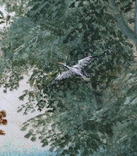 - Landscape with deer hunt - attributed to Willem van den Bundel (1575-1655)