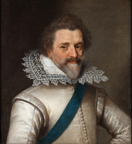 Portrait of Bellegarde - Entourage of Frans Pourbus II