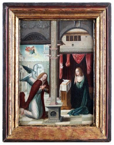 Annunciation - Flemish School (16th century)