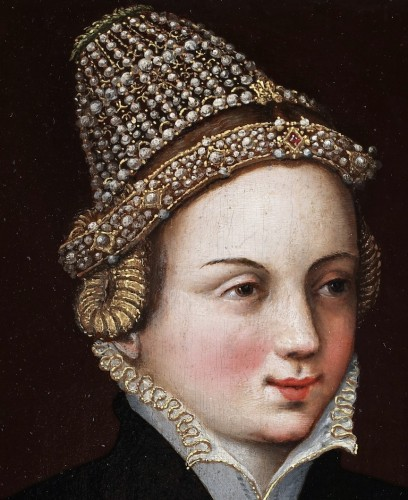- Portrait of a lady in waiting - mid 16th century