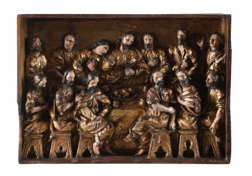 The Last Supper - 16th Century - Sculpture Style