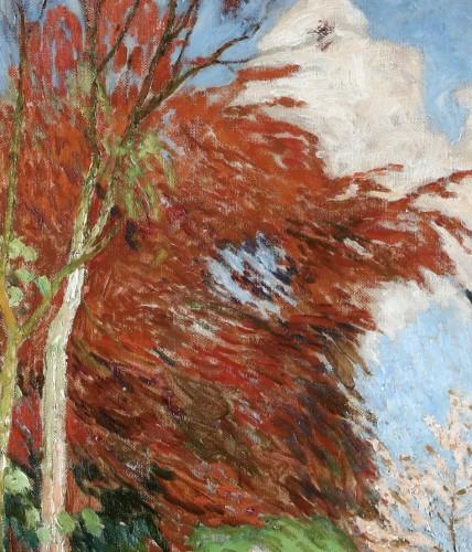 20th century - The garden of Emile Claus - Emile Claus (1849-1924)