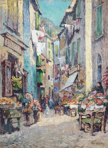 View of Villefranche - Paul Leduc (1876-1943)