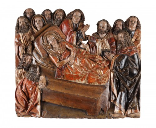 Dormition of the Virgin - Master Narziss of Bozen (1474 - 1517)