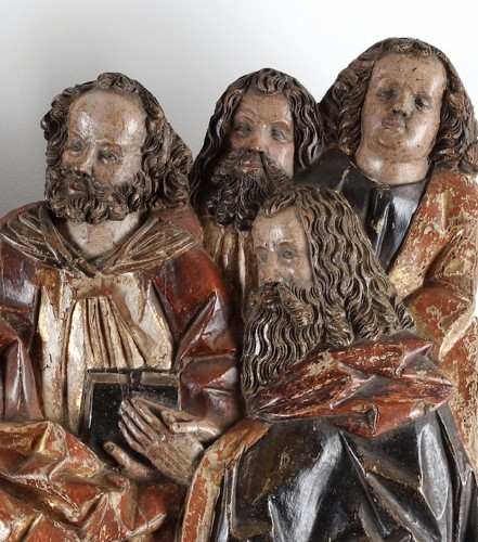 Dormition of the Virgin - Master Narziss of Bozen (1474 - 1517)  - Sculpture Style