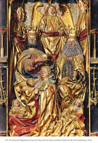 Antiquités - Dormition of the Virgin - Master Narziss of Bozen (1474 - 1517)