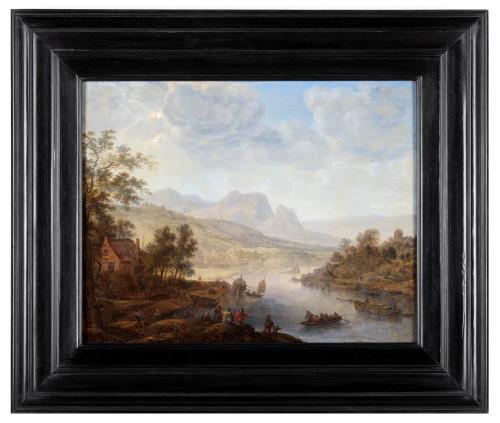 A Rhenish Landscape - Herman Saftleven (Rotterdam 1609- Utrecht 1685)  - Paintings & Drawings Style