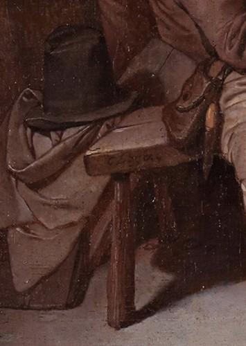 The seduction - Cornelis Pietersz. Bega (1631/1632 – 1664) - Paintings & Drawings Style