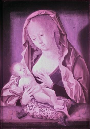 Paintings & Drawings  - Virgin and Child, circle of Joos van Cleve