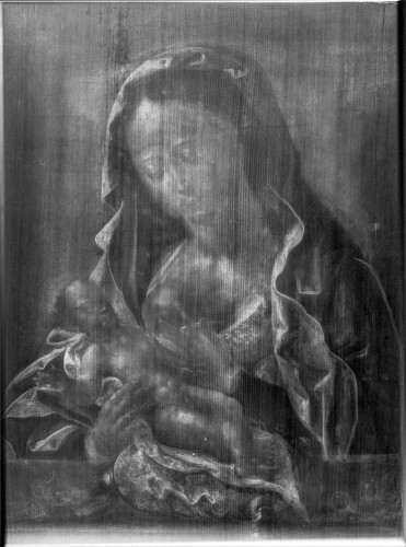 Virgin and Child, circle of Joos van Cleve -
